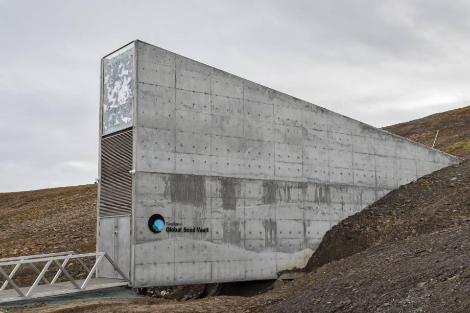 Global Seed Vault isole svalbard