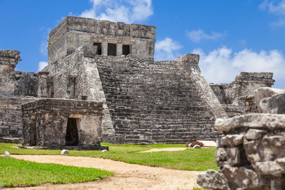 Castillo Tulum Messico