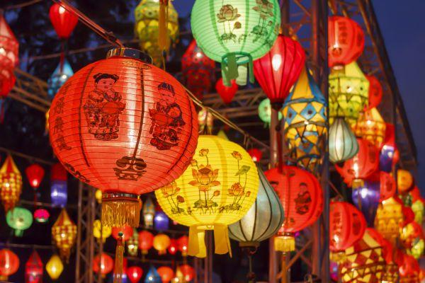 festival delle lanterne Capodanno cinese