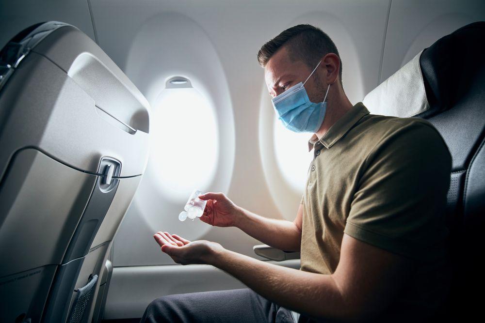 viaggiare in aereo covid-19